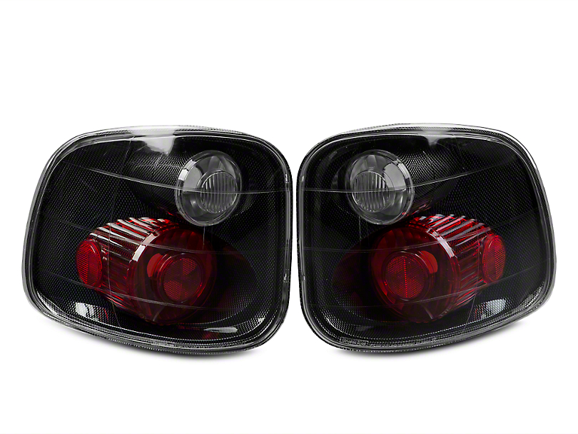 Axial Carbon Fiber Euro Tail Lights (97-03 Flareside; Styleside SuperCrew)