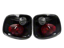 Crystal Eyes Tail Lights; Carbon Fiber (97-03 F-150 Flareside; F-150 Styleside SuperCrew)