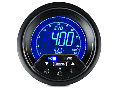 Premium Quad Color Digital Gauge - Exhaust Gas Temp (97-18 All)