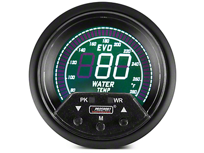 Premium Quad Color Digital Water Temp Gauge - Electrical (97-18 F-150)