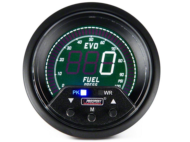 Premium Quad Color Fuel Pressure Digital Gauge - Electrical (97-18 F-150)