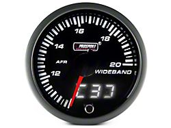 Prosport 60mm JDM Series Dual Display Wideband Air/Fuel Ratio Gauge; Amber/White (Universal; Some Adaptation May Be Required)