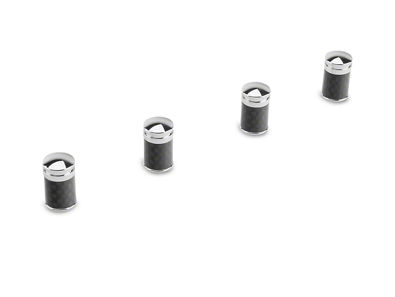 Carbon Fiber Valve Stem Caps (97-17 All)