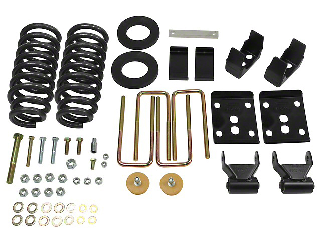 Belltech Stage 1 2 in. or 3 in. Front / 5.5 in. Rear Lowering Kit (04-08 2WD)