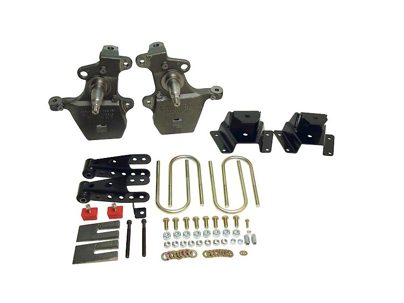Belltech Stage 1 2 in. Front / 4 in. Rear Lowering Kit (97-03 2WD V8 Regular Cab, SuperCab, Excluding Lightning & Harley Davidson)