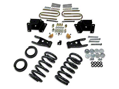 Belltech Stage 1 Lowering Kit - 2 in. or 3 in. Front / 4 in. Rear (97-03 2WD V8, Excluding Lightning & Harley-Davidson)