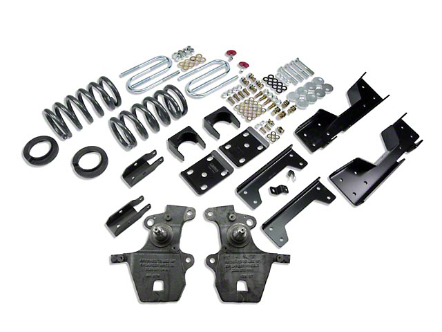 Belltech Stage 1 4 in. or 5 in. Front / 6 in. Rear Lowering Kit (97-03 2WD V8 Regular Cab, SuperCab, Excluding Lightning & Harley-Davidson)
