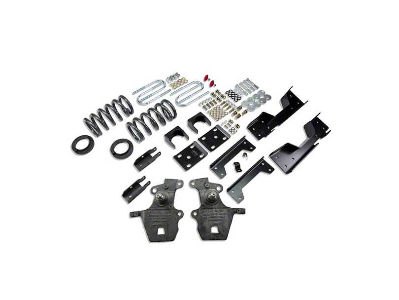 Belltech Stage 1 Lowering Kit - 4 in. or 5 in. Front / 6 in. Rear (01-03 2WD V8 SuperCrew, Excluding Harley Davidson)