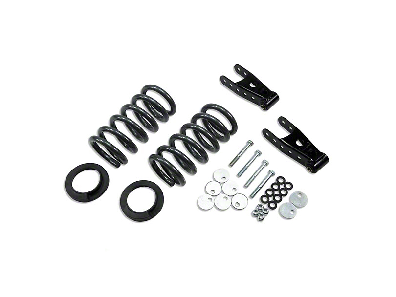 Belltech Stage 1 0 in. or 1 in. Front / 2 in. Rear Lowering Kit (99-03 Lightning)