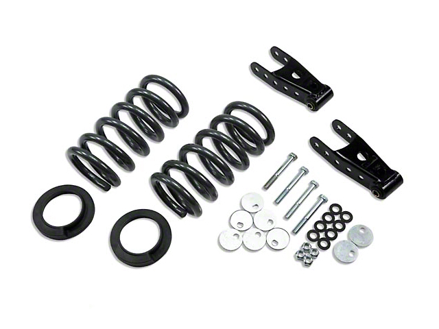 Belltech Stage 1 Lowering Kit - 0 in. or 1 in. Front / 2 in. Rear (99-03 Lightning)