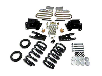 Belltech Stage 1 Lowering Kit - 1 in. or 2 in. Front / 3 in. Rear (00-03 Harley Davidson)