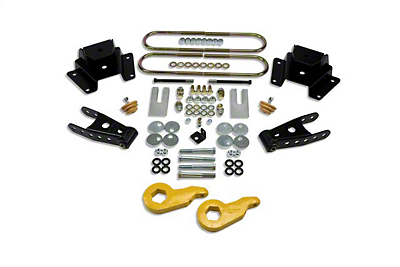 Belltech Stage 1 1 in. or 3 in. Front / 4 in. Rear Lowering Kit (97-03 4WD V8)