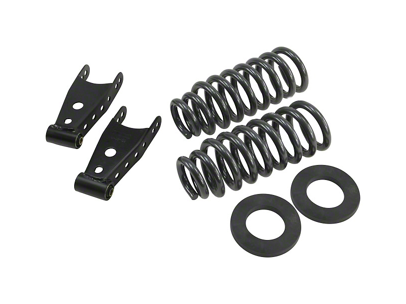 Belltech Stage 1 Lowering Kit - 2 in. or 3 in. Front / 2 in. Rear (09-13 2WD F-150 Regular Cab w/ 6.5 ft. Bed)