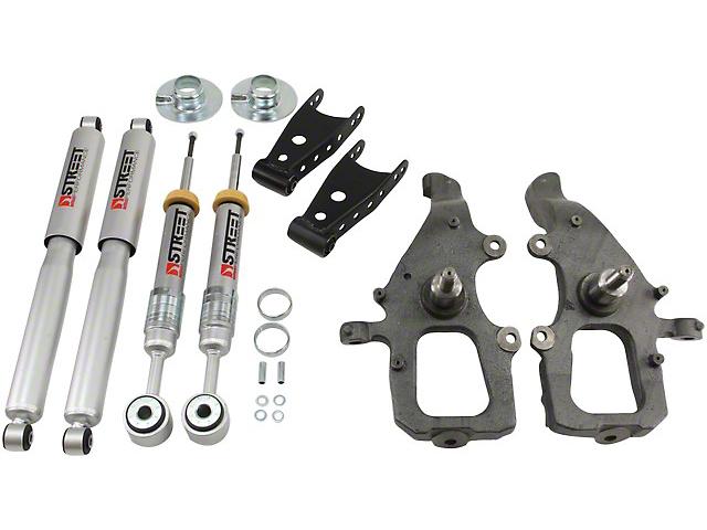 Belltech Stage 3 Lowering Kit w/ Street Performance Shocks - 2 in. Front / 2 in. Rear (04-08 2WD)