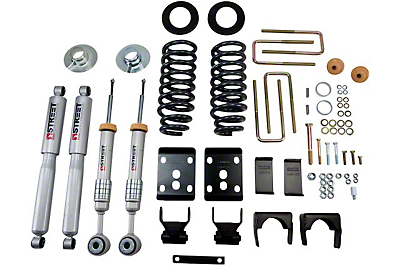 Belltech Stage 3 Lowering Kit w/ Street Performance Shocks - 2 in. or 3 in. Front / 5.5 in. Rear (04-08 2WD)
