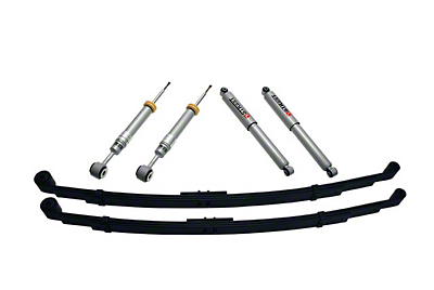 Belltech Stage 3 +1 in. to - 3 in. Front / 3 in. or 4 in. Rear Lowering Kit w/ Street Performance Shocks (04-08 2WD/4WD)
