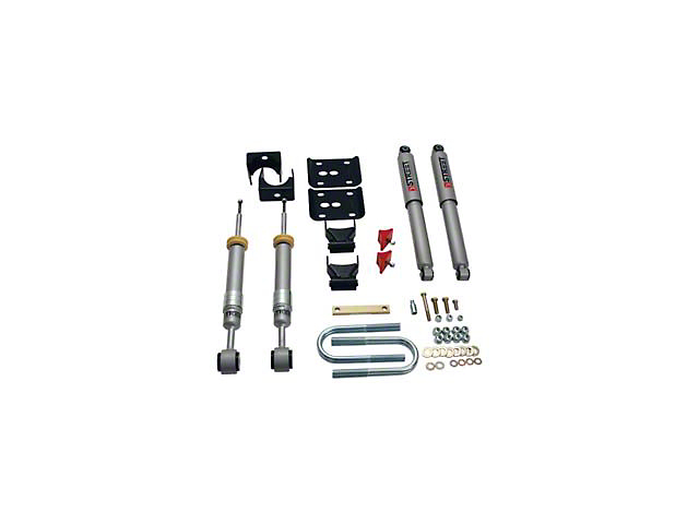 Belltech Stage 3 Lowering Kit w/ Street Performance Shocks - +1 in. to - 3 in. Front / 5.5 in. Rear (04-08 2WD F-150)