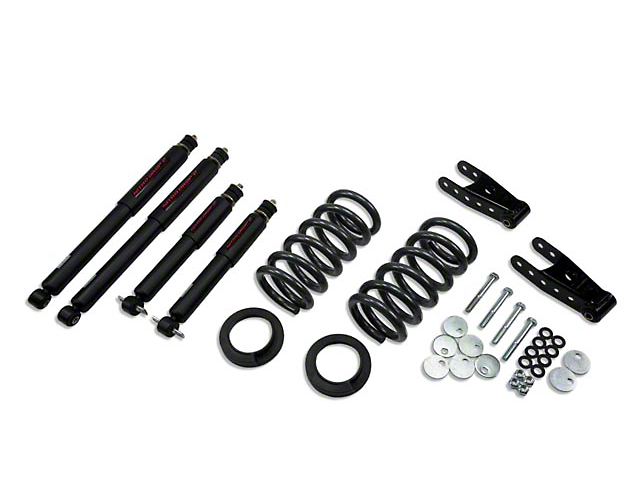 Belltech Stage 2 Lowering Kit w/ Nitro Drop 2 Shocks - 0 in. or 1 in. Front / 2 in. Rear (99-03 F-150 Lightning)