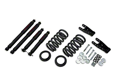 Belltech Stage 2 0 in. or 1 in. Front / 2 in. Rear Lowering Kit w/ Nitro Drop 2 Shocks (99-03 Lightning)