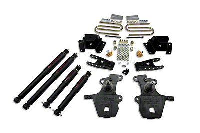 Belltech Stage 2 2 in. Front / 3 in. Rear Lowering Kit w/ Nitro Drop 2 Shocks (99-03 Lightning, Harley Davidson)
