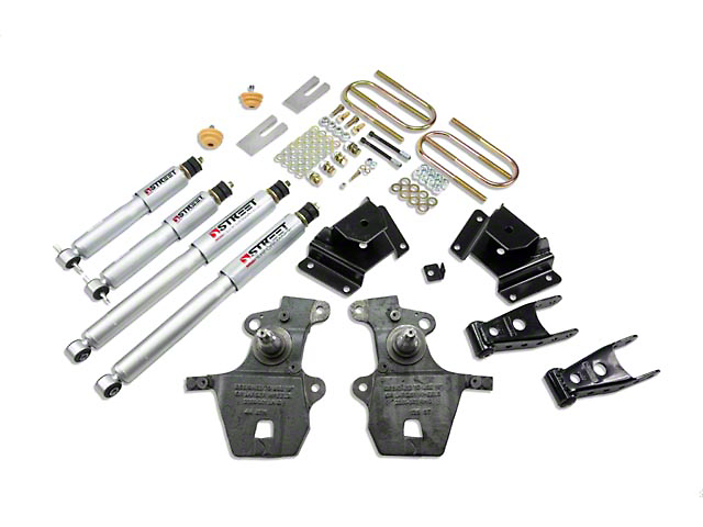 Belltech Stage 3 Lowering Kit with Street Performance Shocks; 2-Inch Front / 3-Inch Rear (99-03 F-150 Lightning; 02-03 F-150 Harley Davidson)