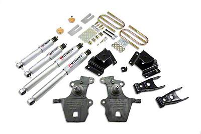 Belltech Stage 3 2 in. Front / 3 in. Rear Lowering Kit w/ Street Performance Shocks (99-03 Lightning, Harley Davidson)