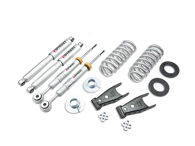 Belltech Stage 3 Lowering Kit w/ Street Performance Shocks - 2 in. or 3 in. Front / 2 in. or 3 in. Rear (04-08 4WD F-150)