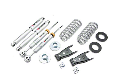 Belltech Stage 3 2 in. or 3 in. Front / 2 in. or 3 in. Rear Lowering Kit w/ Street Performance Shocks (04-08 4WD)
