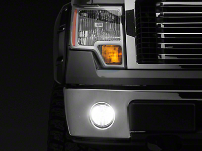 Vividline Fog Light LED Conversion Bulb Kit - H10 (99-18 F-150, Excluding 02-03 Harley Davidson)