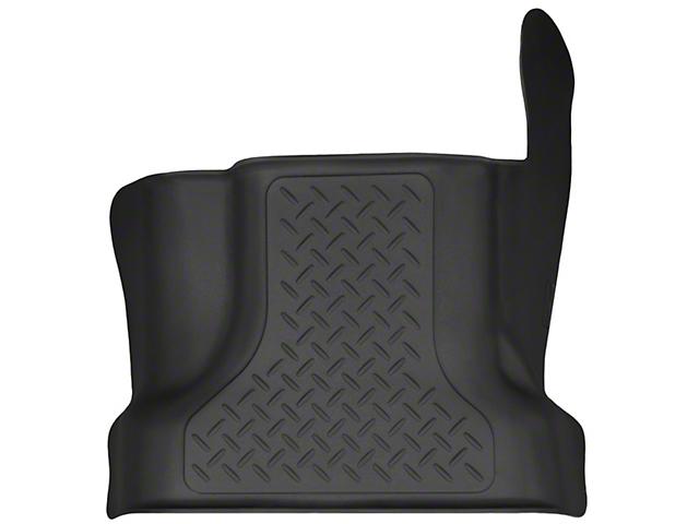Husky X-Act Contour Center Hump Floor Liner - Black (15-17 SuperCab, SuperCrew)