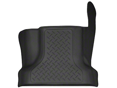 Husky X-Act Contour Center Hump Floor Liner - Black (15-17 SuperCab, SuperCrew)