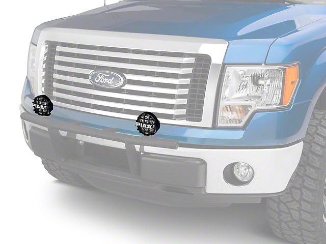 PIAA Series 4 in. Round Xtreme White SMR Lights - Fog Beam - Pair (97-18 All)