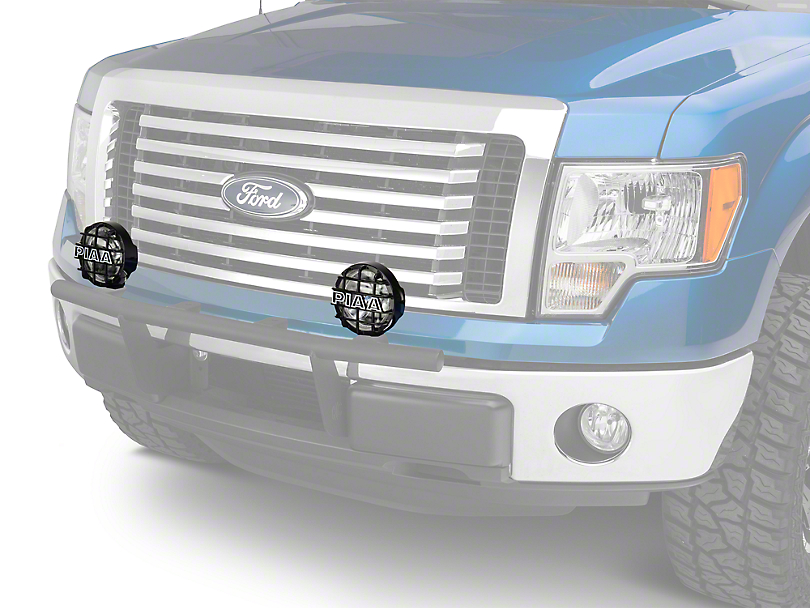 PIAA 540 Series 5 in. Round Xtreme White Halogen Lights - Driving Beam - Pair (97-18 F-150)