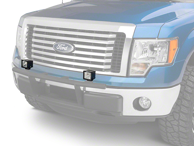 PIAA RF Series 3 in. LED Light Cubes - Driving Beam - Pair (97-18 F-150)
