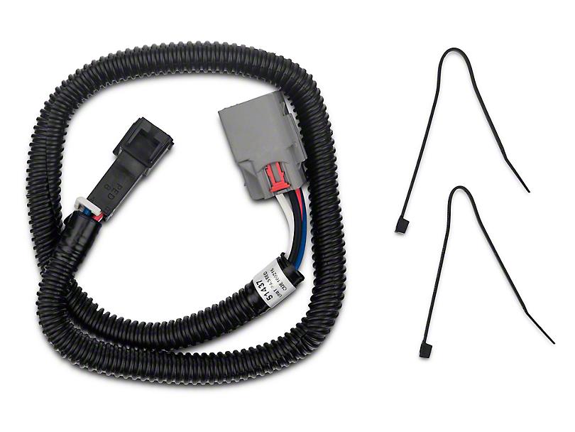 Curt Manufacturing Brake Control Harness w/ Quick Plug (09-18 All)