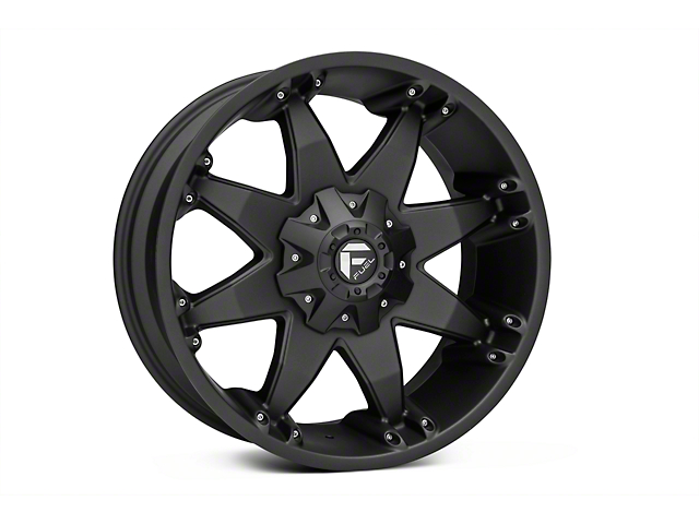 Fuel Wheels Octane Matte Black 6-Lug Wheel - 20x9 (04-17 All)