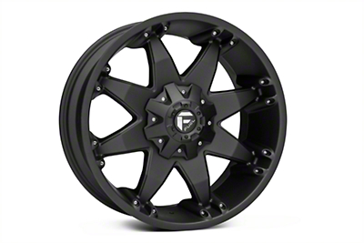Fuel Wheels Octane Matte Black 6-Lug Wheel - 20x9 (04-18 F-150)