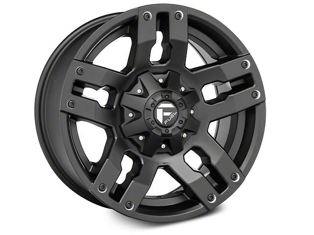 Fuel Wheels Pump Matte Black 6-Lug Wheel - 18x9 (04-17 All)