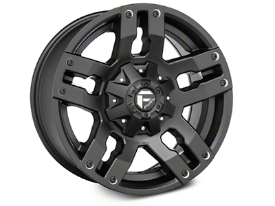 Fuel Wheels Pump Matte Black 6-Lug Wheel - 18x9 (04-17 All)