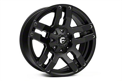 Fuel Wheels Pump Matte Black 6-Lug Wheel - 20x9 (04-18 All)