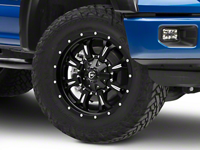 Fuel Wheels Krank Matte Black Milled 6-Lug Wheel - 20x9 (04-19 F-150)