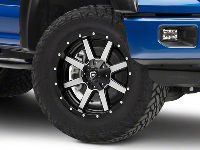 Fuel Wheels Maverick Black Machined 6-Lug Wheel - 20x9 (04-17 All)
