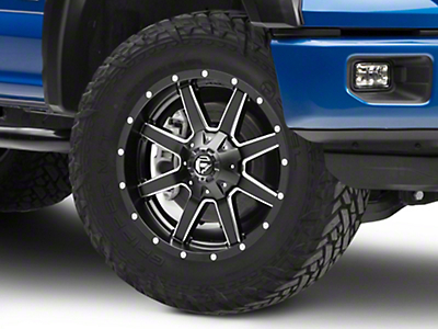Fuel Wheels Maverick Black Milled 6-Lug Wheel - 20x9 (04-18 F-150)