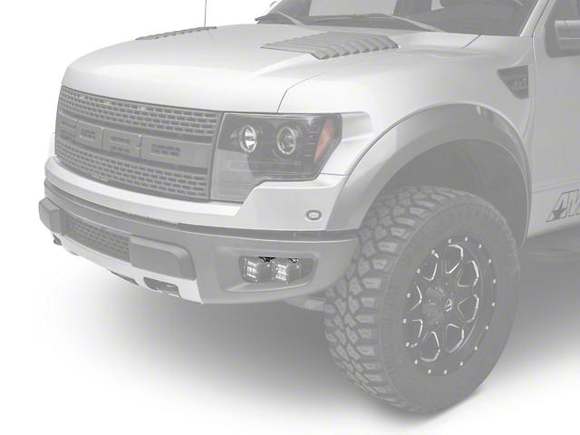 Rigid Industries Dually/D2-Series Fog Light Mounting Brackets (10-14 F-150 Raptor)
