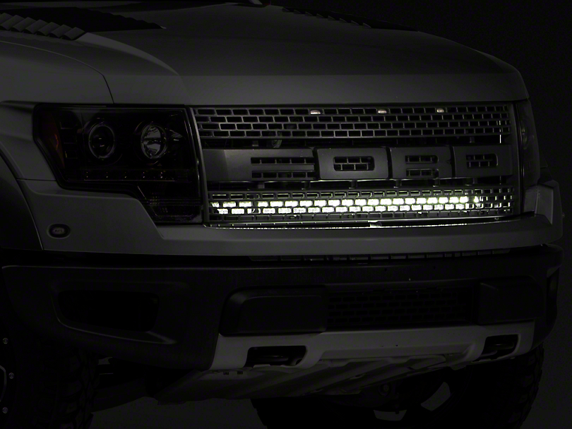 Rigid Industries 40 in. E-Series or SR-Series LED Light Bar Upper Grille Mounting Brackets (10-14 F-150 Raptor)