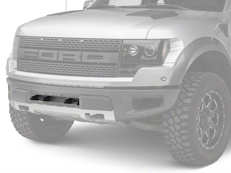 Rigid Industries 4 in. E-Series Light Bar Bumper Mounting Bracket (10-14 F-150 Raptor)
