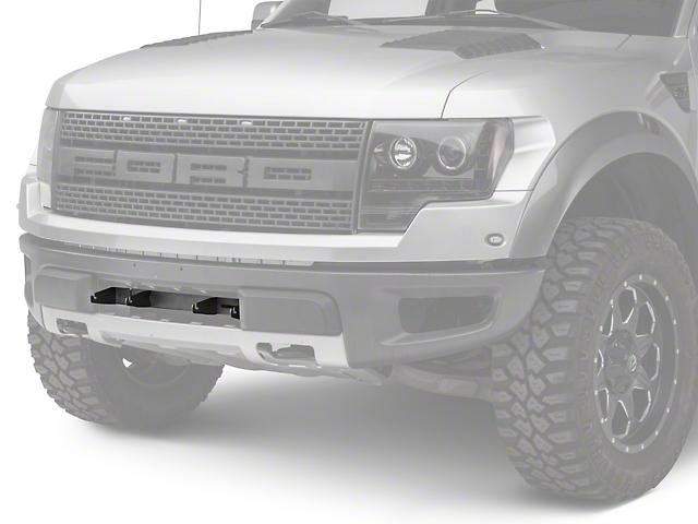Rigid Industries 4 in. E-Series Light Bar Bumper Mounting Bracket (10-14 Raptor)