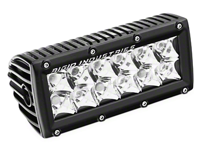 Rigid Industries 6 in. E Series LED Light Bar - Spot Beam (97-18 All)