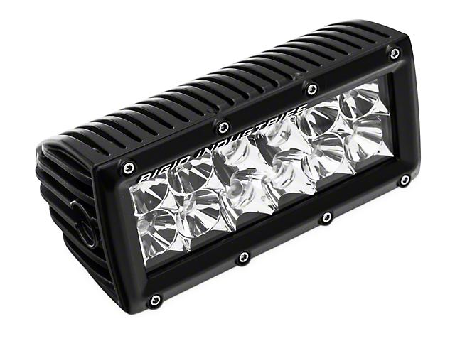 Rigid Industries 6 in. E Series LED Light Bar - Flood/Spot Combo (97-18 All)
