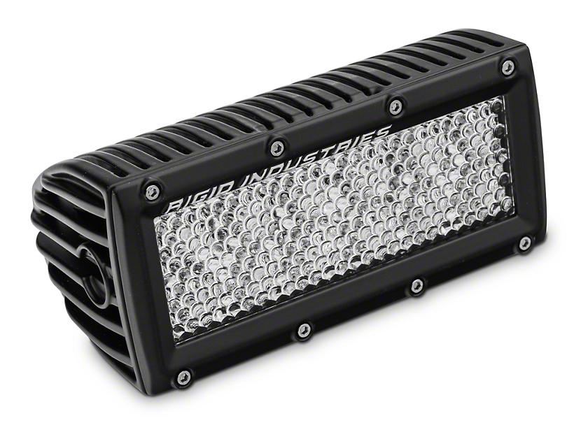 Rigid Industries 6 in. E Series LED Light Bar - 60 Deg. Diffused Lens - Flood Beam (97-18 All)